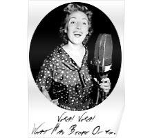 War Singer Poster