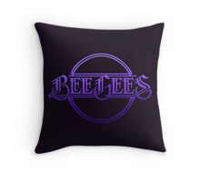 Bee Gees Throw Pillow
