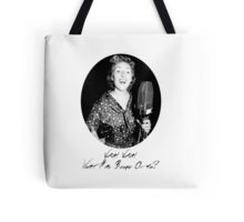 War Singer Tote Bag