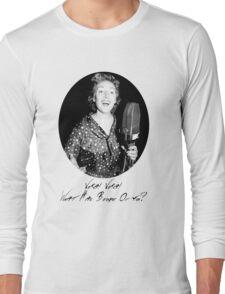 War Singer Long Sleeve T-Shirt