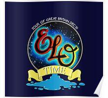 E.L.O. TIME TOUR 1981 Poster