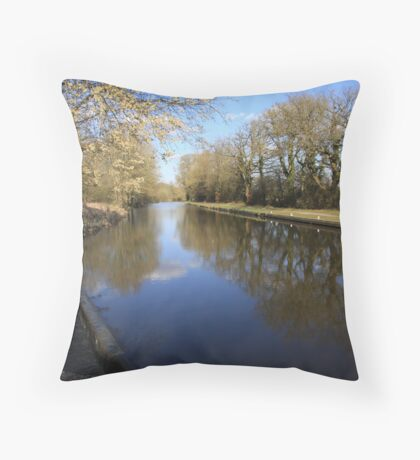 kennet and avon canal Throw Pillow