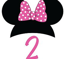 Minnie Mouse 2nd Birthday by Weston Miller