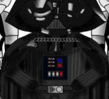 Vader and Troopers Sticker