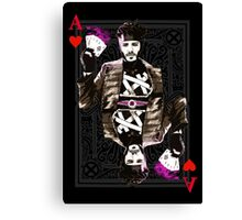 Ace of Hearts Gambit Canvas Print
