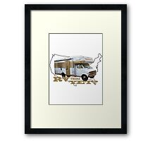 RV THERE YET? Framed Print