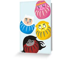 Adventure Daruma Greeting Card