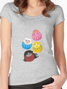 Adventure Daruma Women's Fitted Scoop T-Shirt