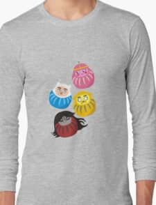Adventure Daruma Long Sleeve T-Shirt