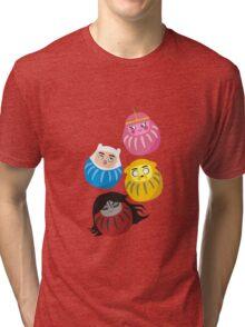 Adventure Daruma Tri-blend T-Shirt