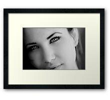Jordan Grace Framed Print