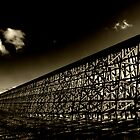 Rochfort Rail Bridge..Sepia by peaceofthenorth