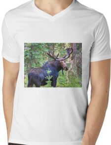 Bullwinkle Mens V-Neck T-Shirt