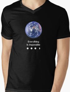 Everything is impossible Mens V-Neck T-Shirt