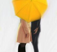 The Yellow Umbrella | Swan Queen by JoanaCTeixeira