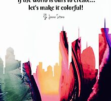 Color Our World by jennastone