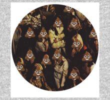 Emoji Crowd One Piece - Long Sleeve
