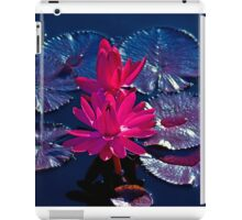 Pink Water Lillies iPad Case/Skin