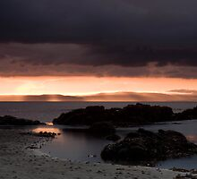 Sunset overlooking the Isle of Arran by Stephen Morhall