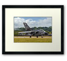 Thundering Tonka on Heat. Framed Print