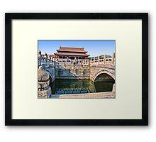 Forbidden City. Beijing, China Framed Print
