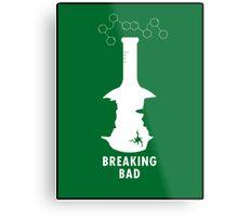 Breaking Bad Beaker  Metal Print