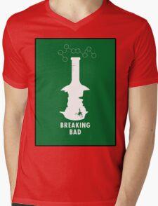 Breaking Bad Beaker  Mens V-Neck T-Shirt