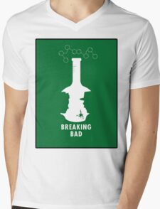 Breaking Bad Beaker  Mens V-Neck T-Shirt
