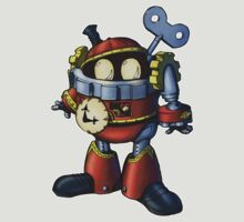 TIMIX the Clockwork Man  by IdleStatus