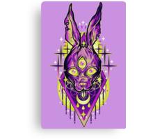 Demon Rabbit  Canvas Print