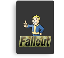 Fallout - Simple Canvas Print