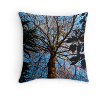 Shadow blossom Throw Pillow