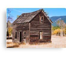 Montana Homestead Canvas Print