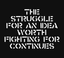 The struggle continues... 2:nd ed. by eritor