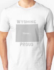 Wyoming Proud Home Tee Unisex T-Shirt