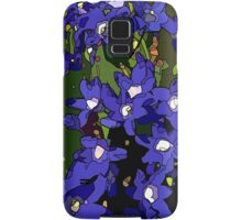 Ground Cover Violets Samsung Galaxy Case/Skin