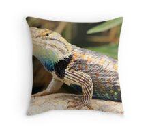 Reptile Beauty Throw Pillow