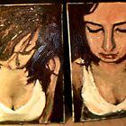 Paintings x2 by Rosanna Jeffery