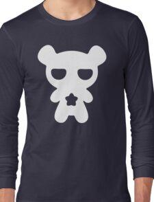 Lazy Bear Baby Blue Long Sleeve T-Shirt