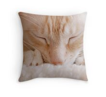 Making Biscuits Throw Pillow