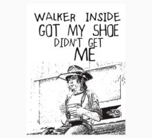 Cooooooral - Walker Didn't Get Me by geekchicprints