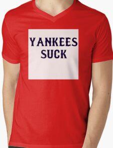 Stankees suck Mens V-Neck T-Shirt