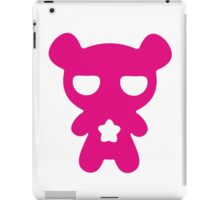 Lazy Bear Pink iPad Case/Skin