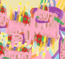 Happy Abstract Birthday! by Jana Gilmore