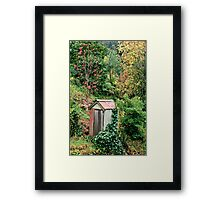 Dunny in the bush Framed Print