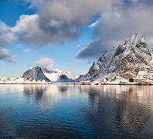 Olstind Reflected by Kristin Repsher