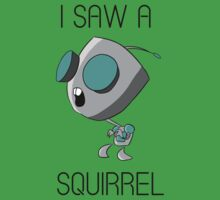 I saw a squirrel by Caleb Baker