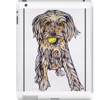 #5: Ruby the Morkie: Messages from the Dogs Oracle Deck iPad Case/Skin