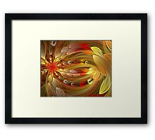 First Rays of Dawn Framed Print
