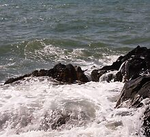 the sea in Skerries by valjones